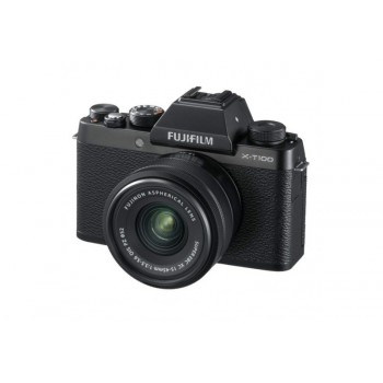 FUJI X-T100 NOIR + 15-45 XC PZ
