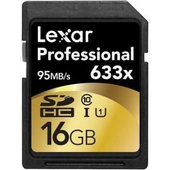LEXAR CARTE SDHC 16GB 633X...