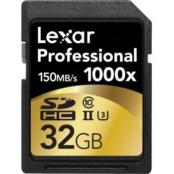 LEXAR CARTE SDHC 32GB 1000X...