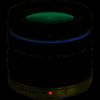 OLYMPUS 9-18MM F/4-5.6 - NOIR