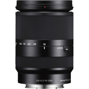 SONY 18-200MM SEL F/3.5-6.3 LE