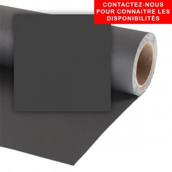 COLORAMA FOND 1.35X11M BLACK